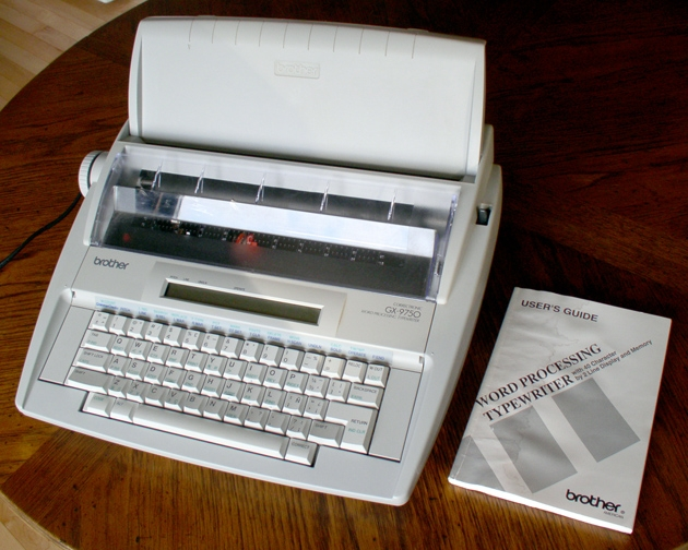 Brother word processer typewriter