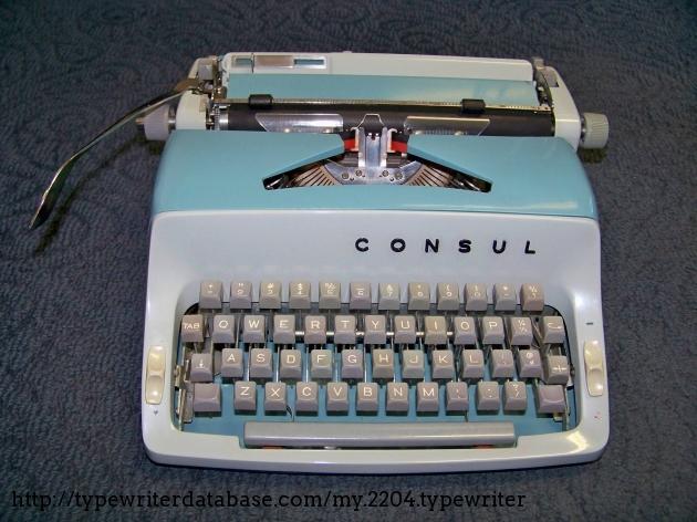 1971 consul 221 typewriter 1 221 106182 twdb for Consul database