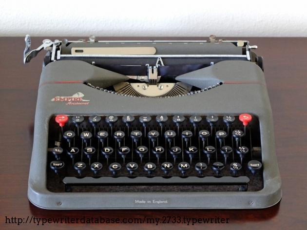 Empire Aristocrat JR Baby Typewriter Ribbons Combo Pack Red/&Black Ribbons