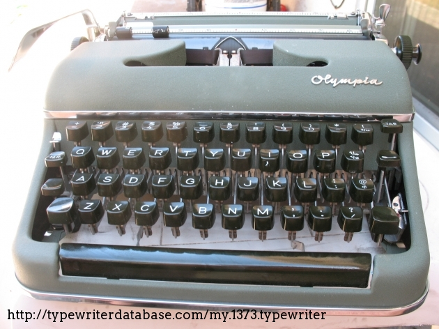 olympia sm3 typewriter serial number