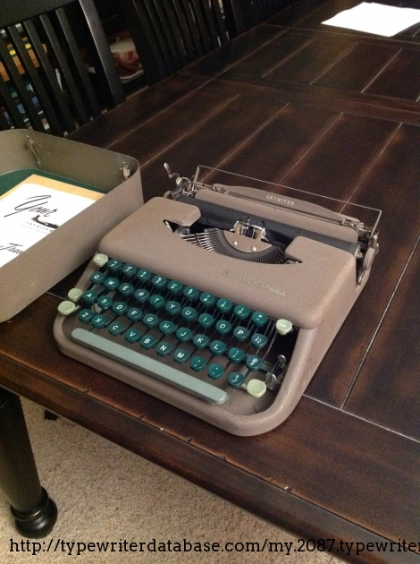 1950 Smith Corona Skyriter