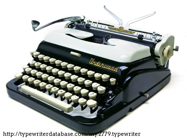 1956 Underwood De Luxe
