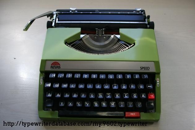 19xx Atlas Speed on the Typewriter Database