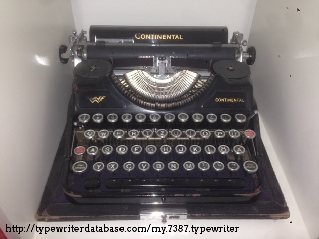 e4ec61ad460f8 1937 Continental Portable on the Typewriter Database