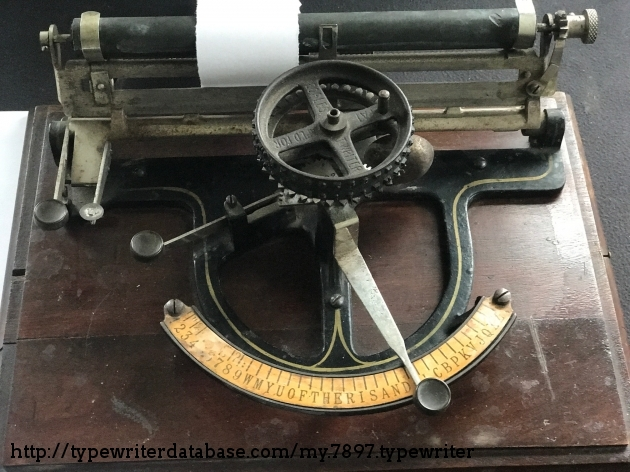 1892 Peoples Index on the Typewriter Database