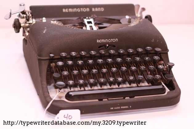 1941 Remington Portable 5