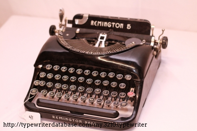 1935 Remington Portable 5
