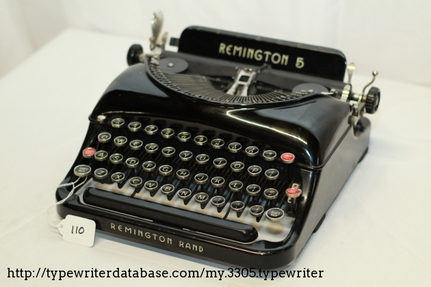 1936 Remington Portable 5
