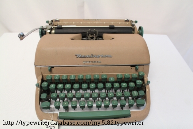 1957 Remington Quiet-Riter