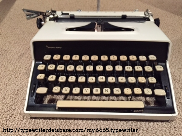 From the Virtual Typewriter Collection of Noel Charchuk: 197x Remington  Monarch