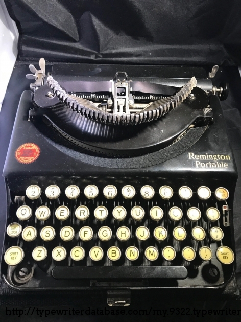 1923 Remington Portable