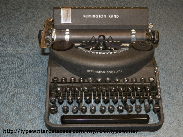 1948 Remington Noiseless 7