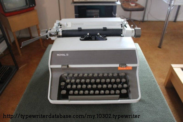 Collectibles ROYAL No.470 TYPEWRITER INSTRUCTION MANUAL Original ...