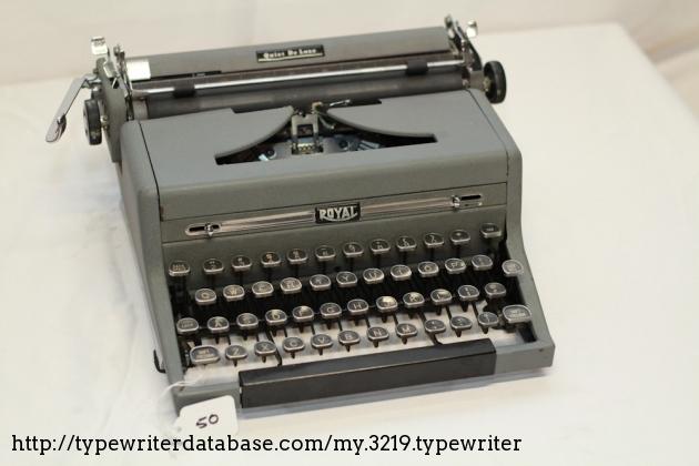 royal quiet deluxe typewriter manual