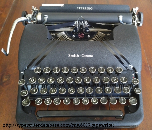 1945 Smith Corona Sterling