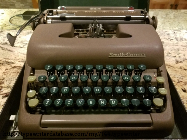 1949 Smith Corona Sterling