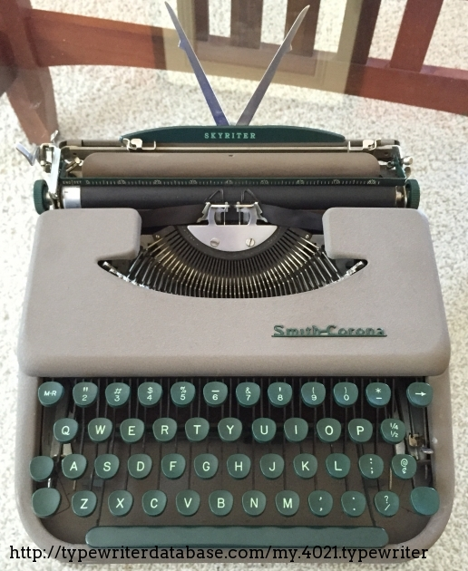 1954 Smith Corona Skyriter