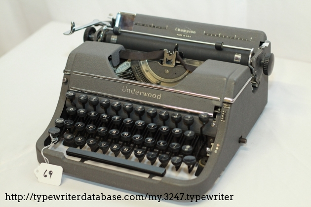 1935 Underwood Champion