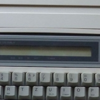 Panasonic electronic typewriter