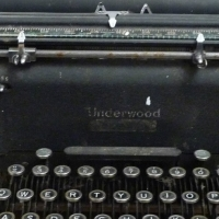 Underwood champion typewriter